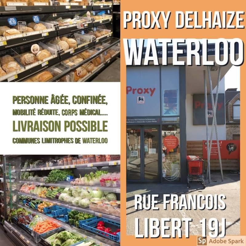 Proxi Delhaize – Waterloo - Belgian Corner