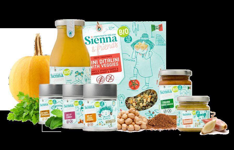 Sienna & Friends - Belgian Corner